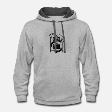 We Are The 99 Percent 1% Chance over 99% Faith - Contrast Hoodie