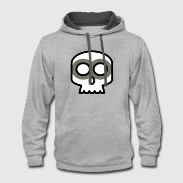 Idea Skull Very Cute Gift Idea - Contrast Hoodie