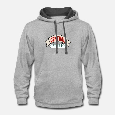 Central Park Central perk - Contrast Hoodie