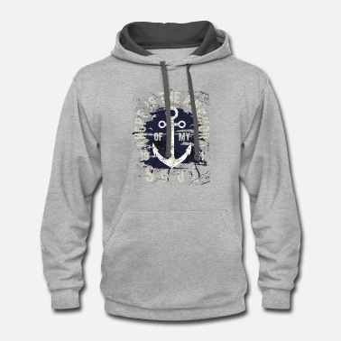 Anchor Hope Is The Anchor Of My Soul - Contrast Hoodie