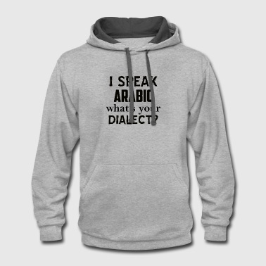 ARABIC dialect - Contrast Hoodie