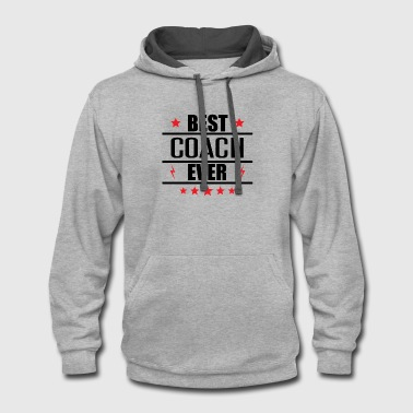 Coach Best Coach Ever - Contrast Hoodie