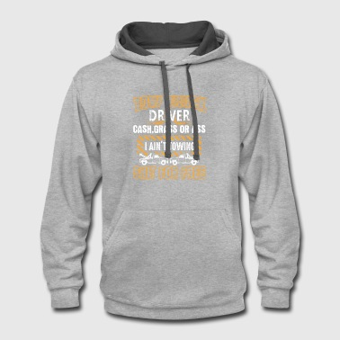 Tow Truck Driver Shirts - Contrast Hoodie