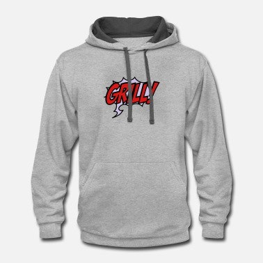 Grill grill - Contrast Hoodie