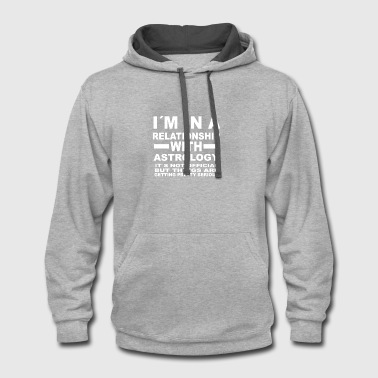relationship with ASTROLOGY - Contrast Hoodie