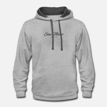 Mateo California San Mateo US DESIGN EDITION - Contrast Hoodie