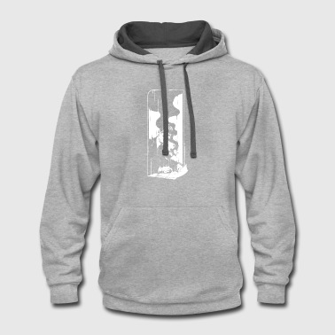 Spill Spilled - Contrast Hoodie