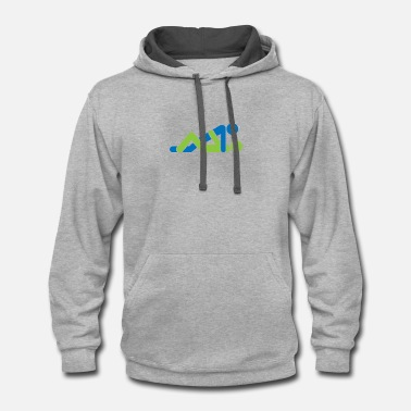 Missionary Position A Couple Having Sex - Contrast Hoodie