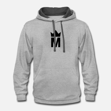 3c100bab Simple Majesty Logo - Unisex Two-Tone Hoodie