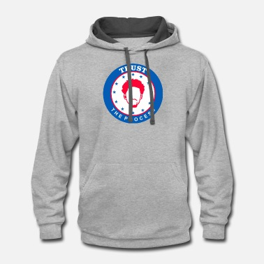 Trust The Process TRUST THE PROCESS 1 - Unisex Two-Tone Hoodie