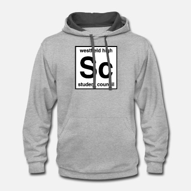 Council westfield high Sc student council - Unisex Two-Tone Hoodie