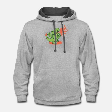 Lighter LIGHTER - Unisex Two-Tone Hoodie