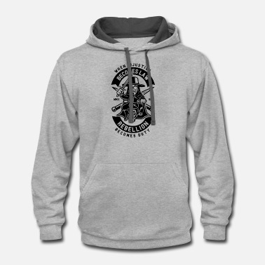 Anonymous - Unisex Two-Tone Hoodie
