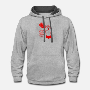 Cry Baby cry baby - Contrast Hoodie