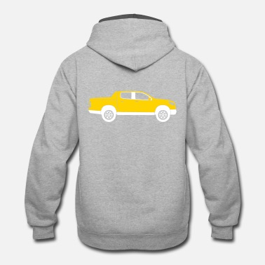Pick Pick-up Truck - Unisex Two-Tone Hoodie