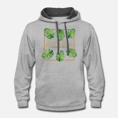 Look Good Good mood looks good on you - Unisex Two-Tone Hoodie