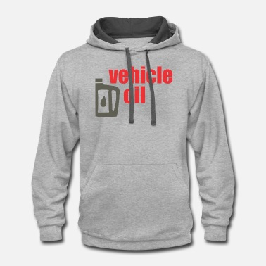 Vehicle vehicle oil - Unisex Two-Tone Hoodie