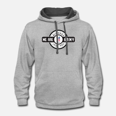 Bts WE ARE ARMY - Unisex Two-Tone Hoodie