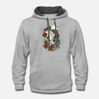 Indian - Unisex Two-Tone Hoodie