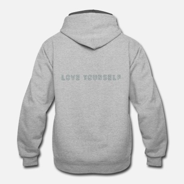 Bts LOVE YOURSELF - Unisex Two-Tone Hoodie
