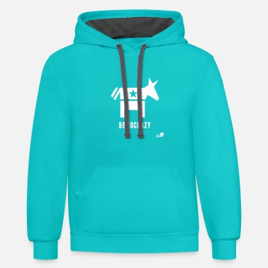 Democracy Democracy - Unisex Two-Tone Hoodie