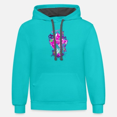 Adventure Killer Queen - Unisex Two-Tone Hoodie