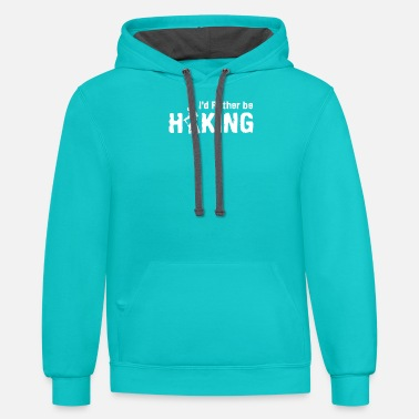 10754 w - Unisex Two-Tone Hoodie