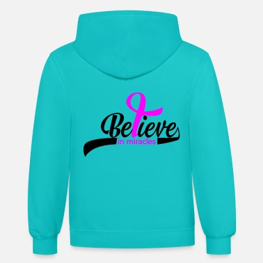 Believe Believe In - Unisex Two-Tone Hoodie