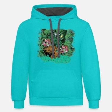 Junglecontest junglecontest - Unisex Two-Tone Hoodie