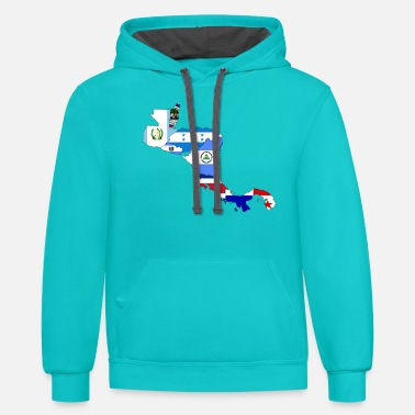 Central America central america - Unisex Two-Tone Hoodie