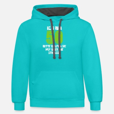 Round Birthday 50th Birthday Round Birthday - Unisex Two-Tone Hoodie