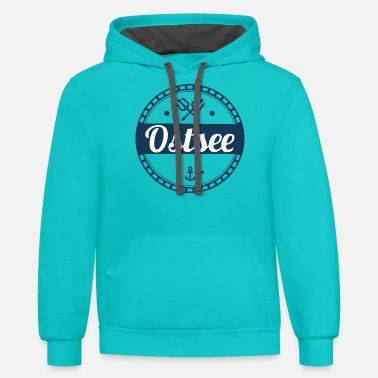 Baltic Sea Baltic Sea,sea,baltic,island,holiday,summer,beach - Unisex Two-Tone Hoodie