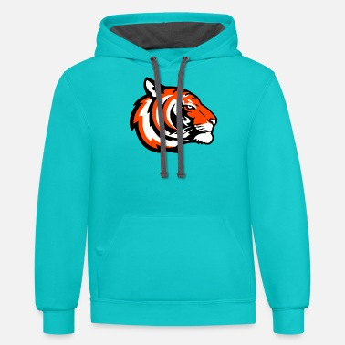 House Tiger tiger - Unisex Two-Tone Hoodie