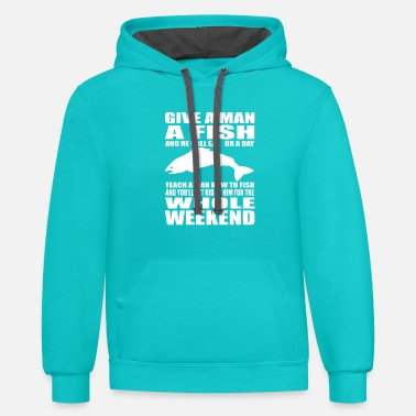 Tournament Fishing FISHING - Unisex Two-Tone Hoodie