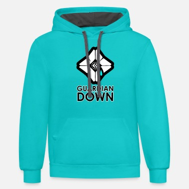 Destiny Guardian Down Ghost - Unisex Two-Tone Hoodie