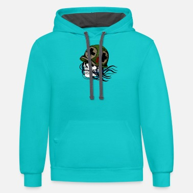 Soldier Of Fortune soldier skull soldier - Unisex Two-Tone Hoodie