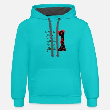 Couple Love - Unisex Two-Tone Hoodie