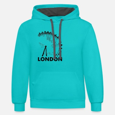 London London Eye - Contrast Hoodie