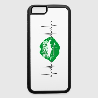 Frog Saudi Arabia 2018 ECG Kiss Soccer World Champions - iPhone 6/6s Rubber Case
