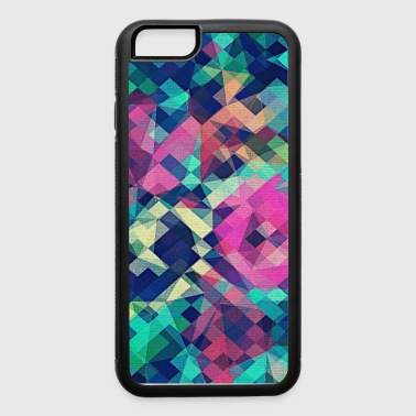 Abstract Rose (Colorful Pattern) Art - Phone Case - iPhone 6/6s Rubber Case
