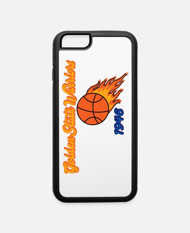 Curry iPhone Cases - Golden State Warriors 1946 - iPhone 6 Case white/black