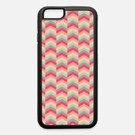Arrow iPhone Cases - Colorful Arrow Pattern Case - iPhone 6 Case white/black