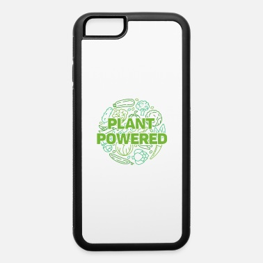 Carton Plant Powered Vegan Quote - iPhone 6 Case