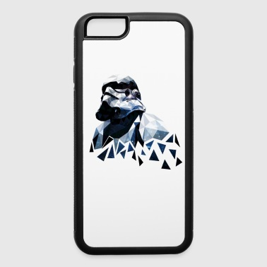 stormtrooper polygon - iPhone 6/6s Rubber Case