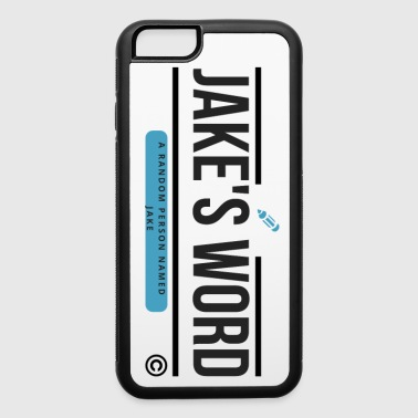 Jake's Word Logo - iPhone 6/6s Rubber Case