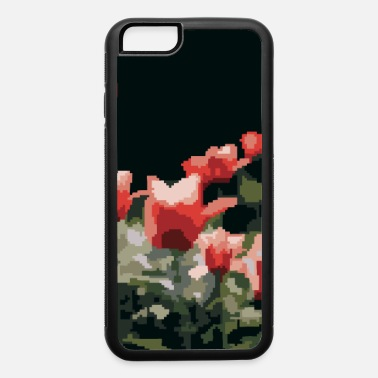Blume Red roses in pixel art style. - iPhone 6 Case