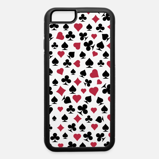 Valentine's Day iPhone Cases - cards - iPhone 6 Case white/black