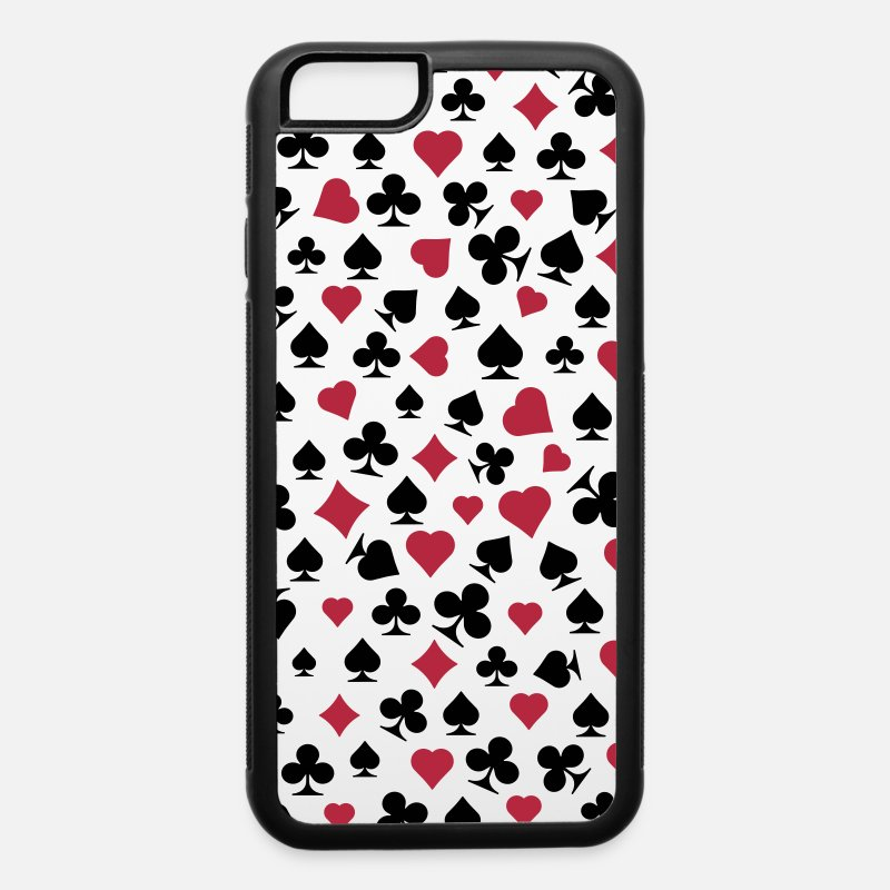 Cards iPhone Cases - cards - iPhone 6 Case white/black