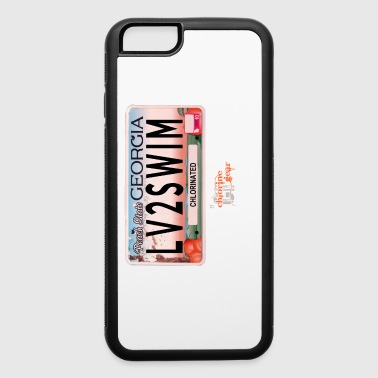 GA license plate - iPhone 6/6s Rubber Case