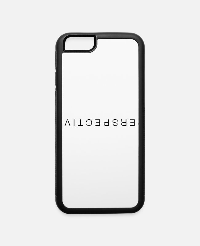 Hipster iPhone Cases - Perspective - iPhone 6 Case white/black